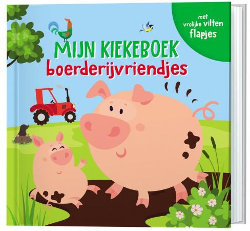 Lantaarn Publishers Mijn Kiekeboek -Boerderijvriendjes