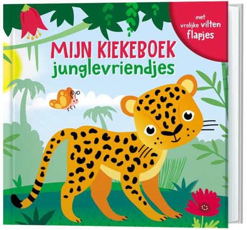 Lantaarn Publishers Mijn Kiekeboek - Junglevriendjes