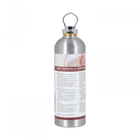 Label+ Kruik Aluminium III