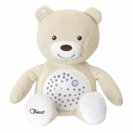 Chicco Knuffel Projector Baby Bear First Dreams Beige