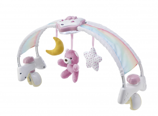Chicco Speelboog Bed Rainbow Sky Pink