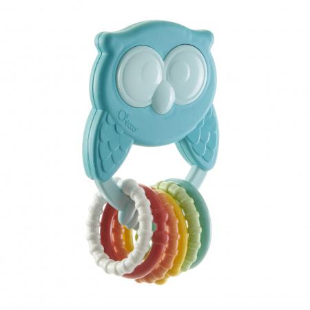 Chicco Owl Rattle ECO+