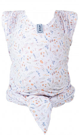 Bykay Stretchy Wrap Deluxe Size M Flower Breeze