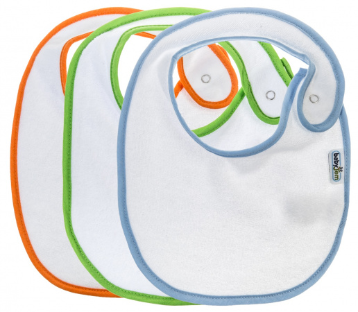Babyjem Slab Blue-Green-Orange 3-pack