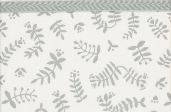 Briljant Wieglaken Botanical Organic Grijs <br> 75 x 100 cm
