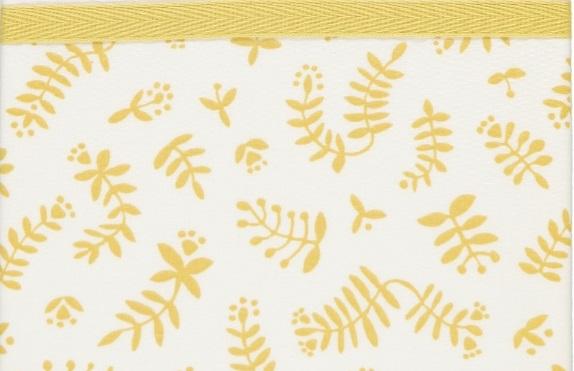 Briljant Wieglaken Botanical Organic Geel <br> 75 x 100 cm