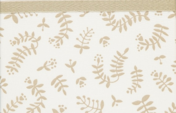 Briljant Ledikantlaken Botanical Organic Zand <br> 100 x 150 cm