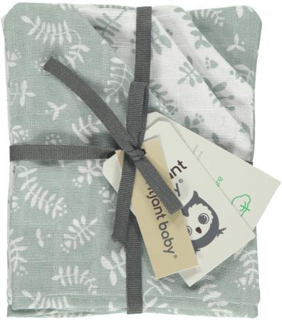 Briljant Washandje Botanic Organic Stonegreen <br> 4-Pack