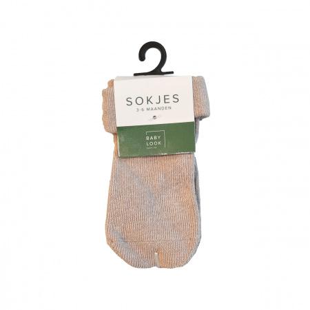 Babylook Sokjes Silver Mink