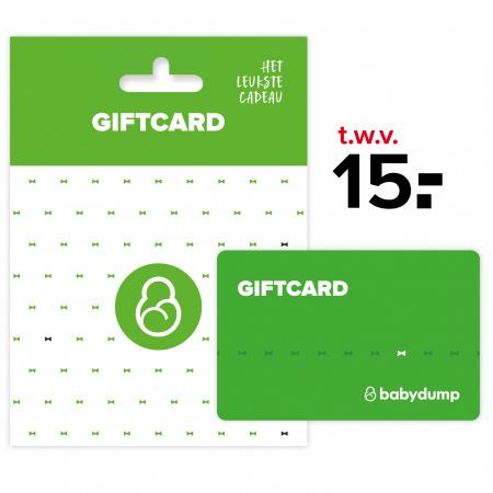 Babydump Giftcard € 15,-
