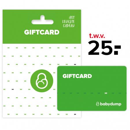 Babydump Giftcard € 25,-