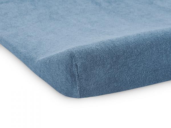 Jollein Aankleedkussenhoes Badstof Jeans Blue