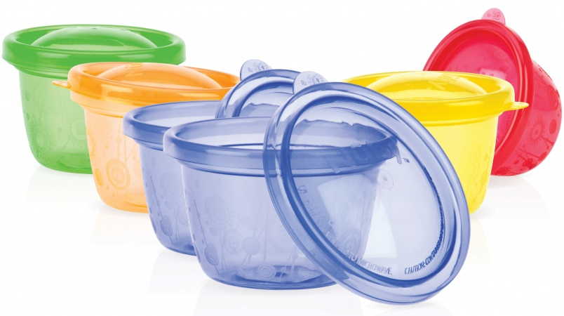 Nûby Snack Cups <br>118ml (6 stuks)