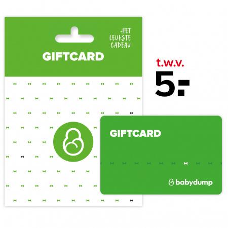 Babydump Giftcard € 5,-