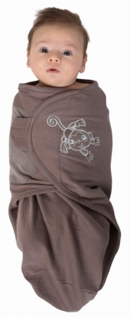 Bo Jungle Baby Wrap Taupe Small