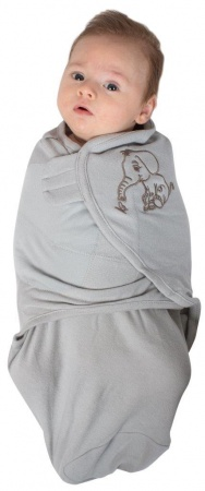 Bo Jungle Baby Wrap Grey Small