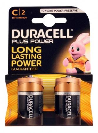 Duracell Batterij C (2 stuks)