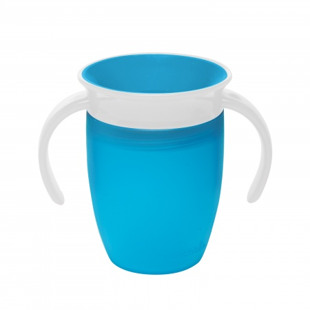 Munchkin Miracle 360° Trainer Cup Blauw<br> 6mnd+ 207ml
