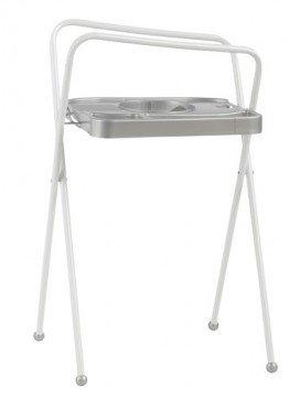 Bébé-Jou Badstandaard  Click Zilver 103 cm