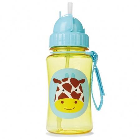 Skip Hop Drinkbeker + Rietje Giraffe