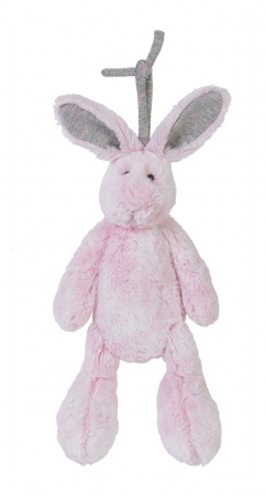 Happy Horse Rabbit Rivoli Pink Musical 25 cm