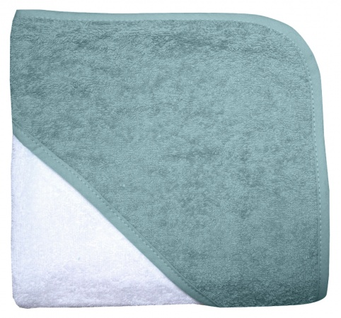 Babydump Collectie Babycape Wit / Stonegreen