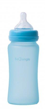 Bo Jungle Fles Glas 240ml Turquoise
