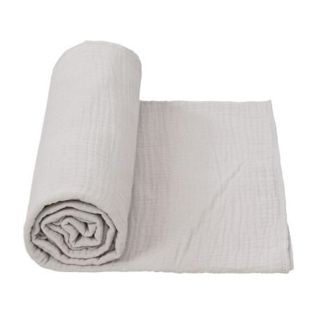 Cottonbaby Multidoek Soft XL Lichtgrijs