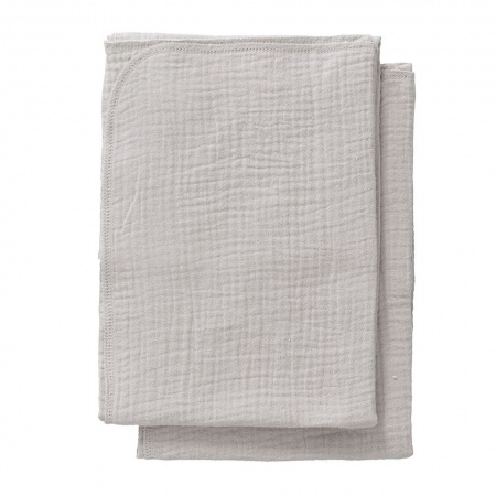 Cottonbaby Multidoek Soft S Lichtgrijs <Br> 2Stuks