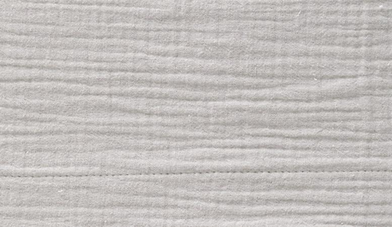 Cottonbaby Wieglaken Soft Lichtgrijs <Br> 75 x 90 cm
