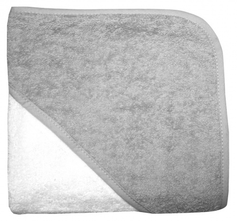 Babydump Collectie Babycape Wit / Grey