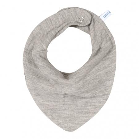 Little Dutch Bandana Slab Pure Grey 22 x 16 cm