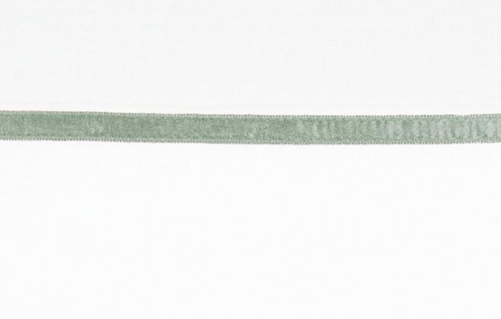 Briljant Ledikantlaken Bies Stone Green<br/ >100 x 150 cm