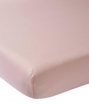 Meyco Hoeslaken Boxmatras Oudroze <br>75 x 95 cm