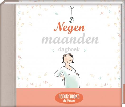 Pauline Oud<br> Memorybook Negen Maanden Dagboek