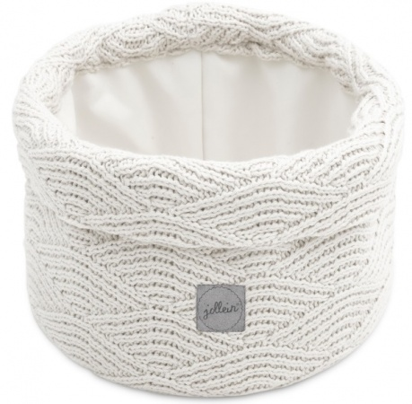 Jollein Verzorgingsmandje River Knit Cream White