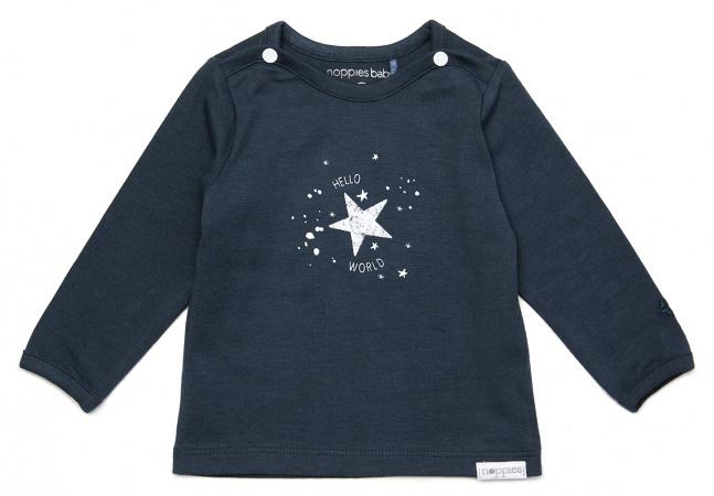Noppies T-Shirt Lux Dark Slate