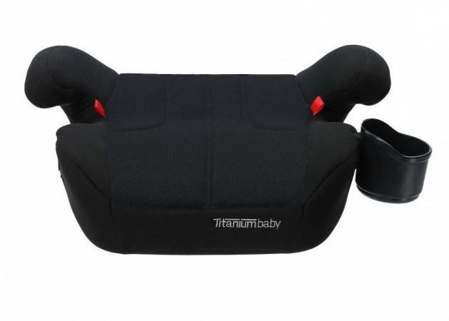 Titaniumbaby i Safety ! Tano Isofix Booster Black