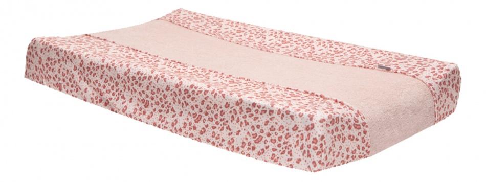 Bébé-Jou Aankleedkussenhoes 72x44 cm Leopard Pink
