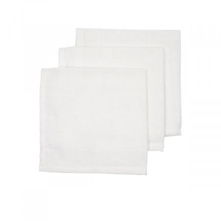 Babydump Collectie Monddoek Wit 3-Pack