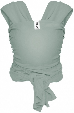 Bykay Stretchy Wrap Deluxe Size M Minty Grey