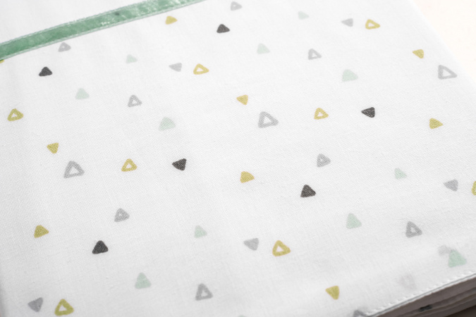 Briljant Ledikantlaken Triangle <br> 100 x 150 cm