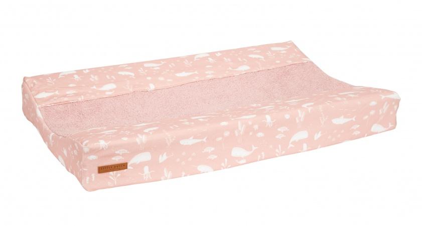 Little Dutch Aankleedkussenhoes Ocean Pink 44 x 72 cm