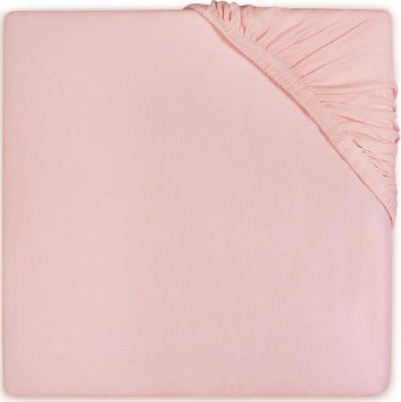 Jollein Ledikanthoeslaken Katoen <br> 60 x 120 cm   Soft Pink