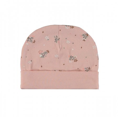 Babylook Muts Flower Silver Pink