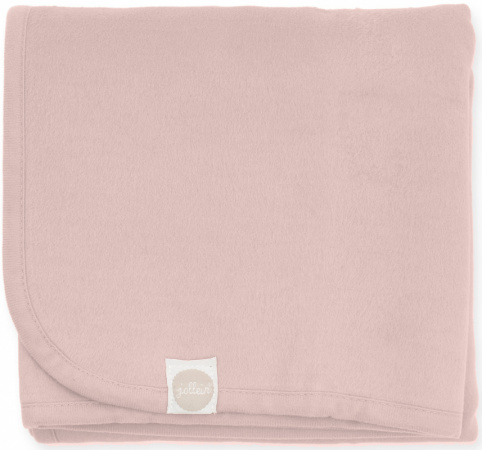 Jollein Ledikantdeken Pale Pink <br> 100 x 150 cm