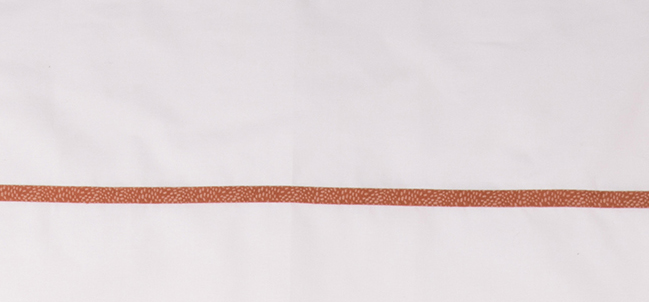 Briljant Wieglaken Minimal Dots Terra<br> 75 x 100 cm