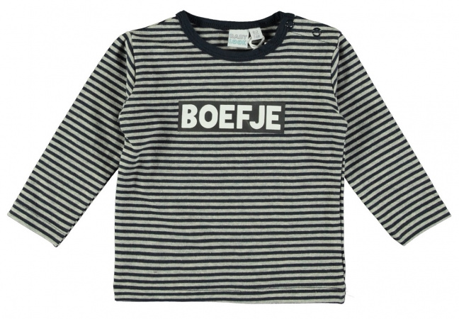 Babylook T-Shirt Boefje Stripe