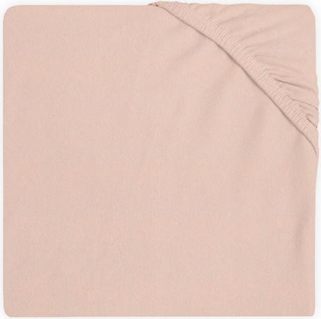 Jollein Wieghoeslaken Jersey <br> 40 x 80/90 cm  Pale Pink