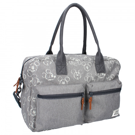 Kidzroom Diaperbag Mickey Mouse Endless Imagination Grey